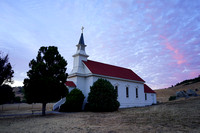 Old Saint Mary's Church of Nicasio Valley