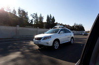 Google Self Driving Lexus Selects